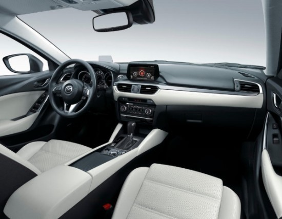 Mazda 6 фото салона