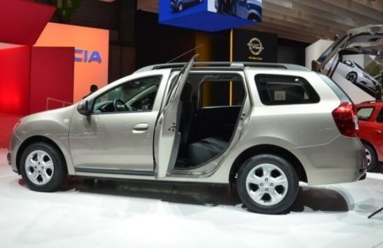 Dacia Logan MCV фото сбоку