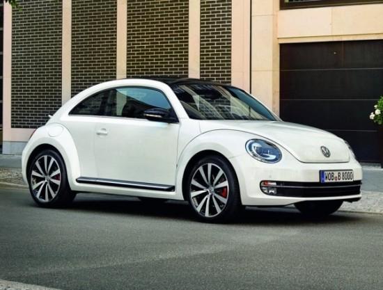 Volkswagen Beetle фото сбоку