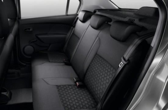 Renault Logan фото кресла