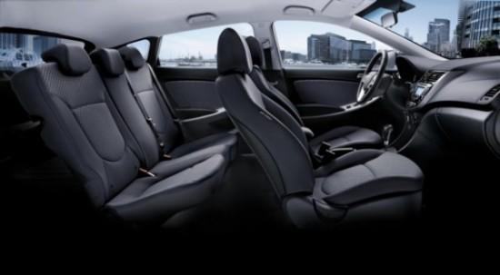 Hyundai Solaris передние сидения