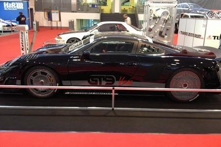 Спорткар GT9 Vmax фото сбоку