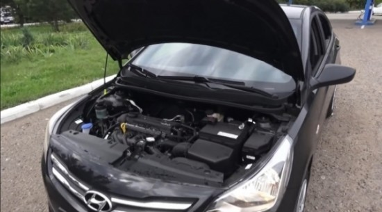 двигатель рестайлингового Hyundai Solaris