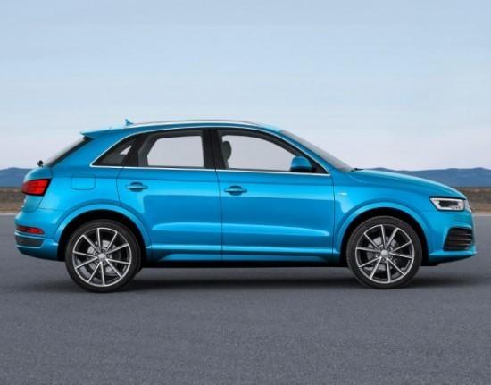 Audi Q3 фото сзади