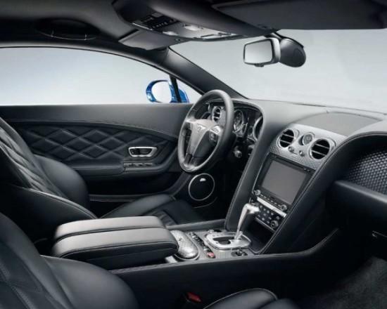 Bentley Continental GT Speed салон