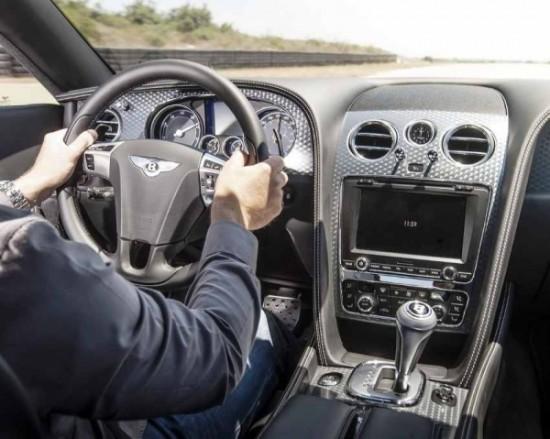 Bentley Continental GT Speed Фото салона