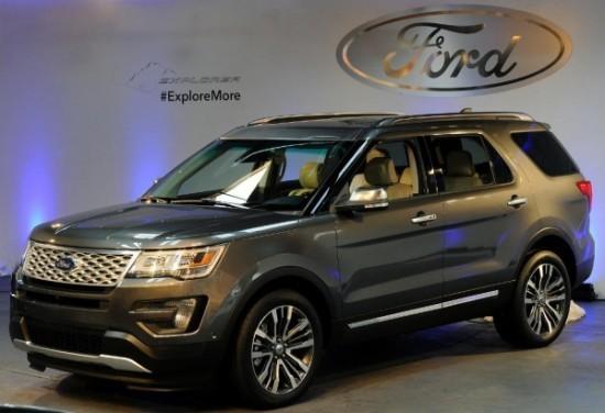 Ford Explorer Рестайлинг