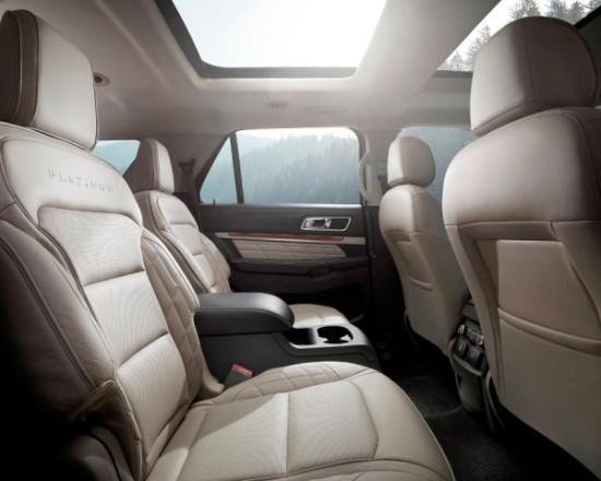 Ford Explorer сиденья