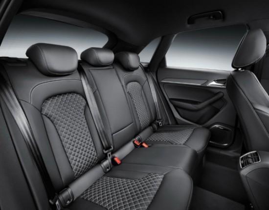 Audi RS Q3 фото задние сиденья