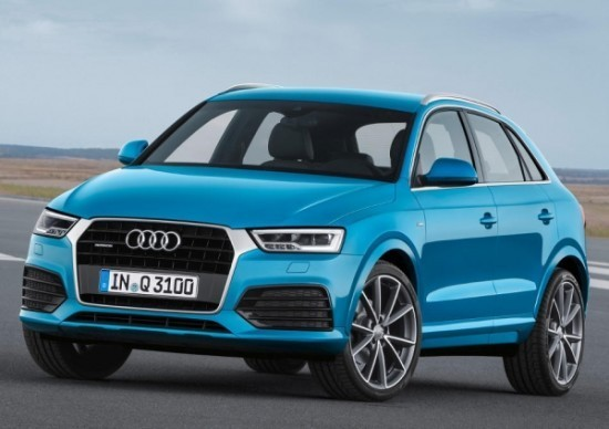 Фото Audi Q3 2015 модельного года