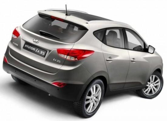 Hyundai ix35 2012 фото сбоку