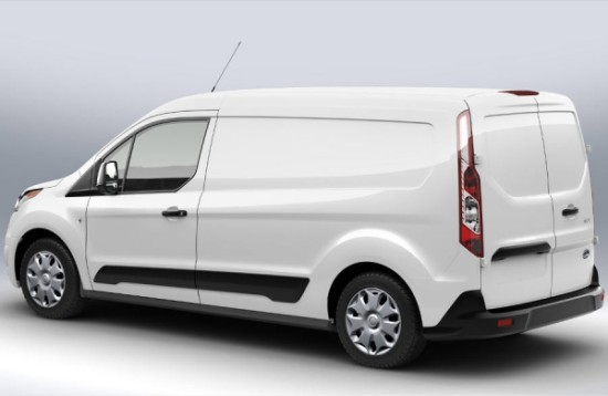 Ford Transit Connect фото сбоку