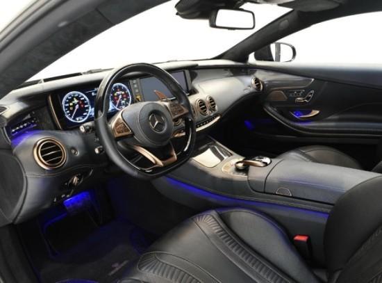 Mercedes S63 AMG фото салона