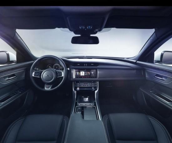 Jaguar XF 2016 фото салона