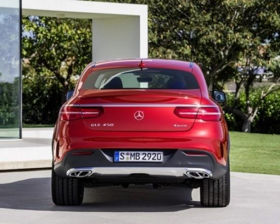 Mercedes GLE фото сзади