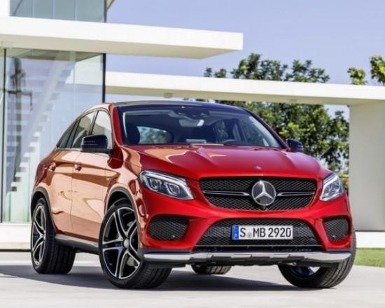 купе Mercedes GLE