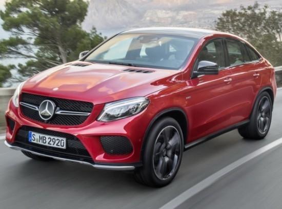 Mercedes GLE фото слева