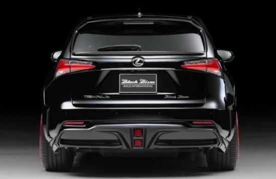 Lexus NX фото сзади