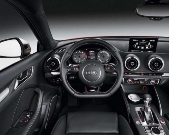 Audi S3 фото салона