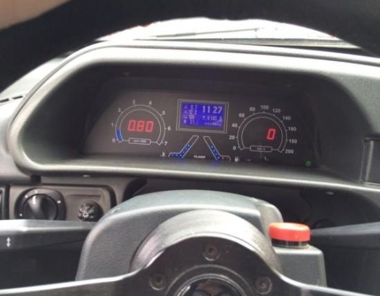 новая панель приборов ВАЗ 2108