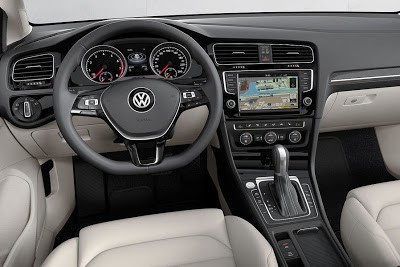 Volkswagen  хетчбек Golf 7 салон