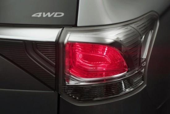 Mitsubishi Outlander Samurai задние фонари