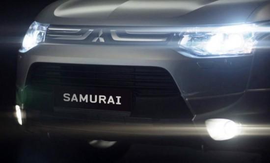 Mitsubishi Outlander Samurai передние фонари