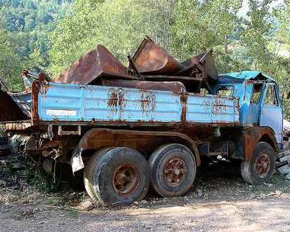грузовики старше 15 лет