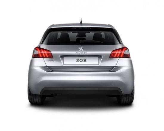 Peugeot 308 фото сзади