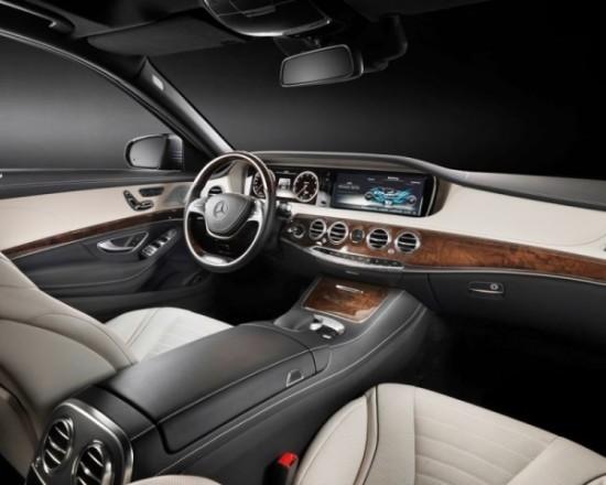 Mercedes S-Class (W222) салон авто