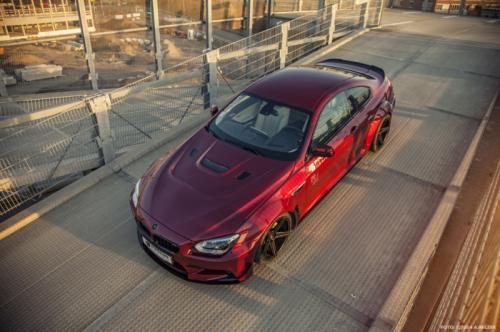 BMW M6 фото сверху
