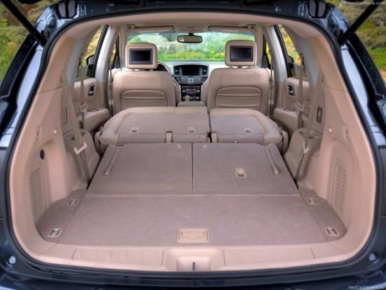 Nissan Pathfinder багажник