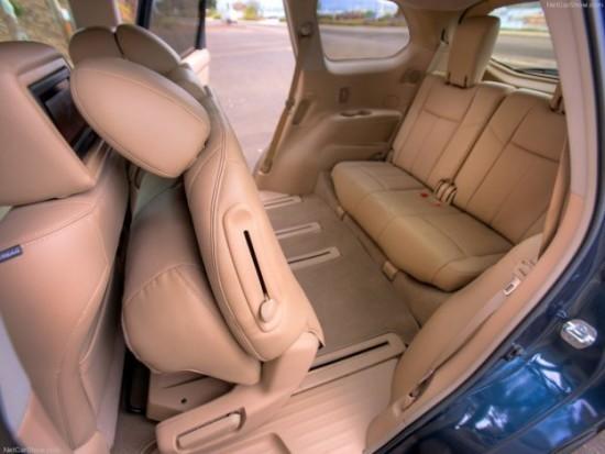 Фото сиденья Nissan Pathfinder