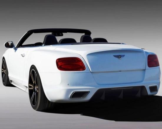 Bentley Continental GTC 2012 фото сзади