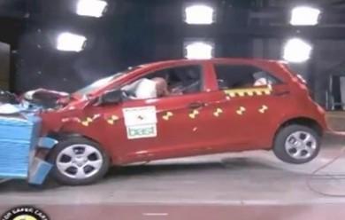 Краш-тест новой Kia Picanto
