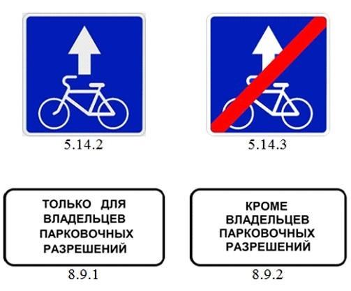 5.14.2 «Полоса для велосипедистов»