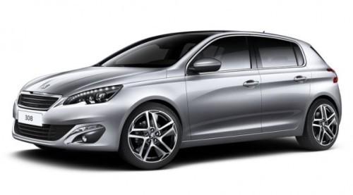 Peugeot 308 2014-2015 фото сбоку