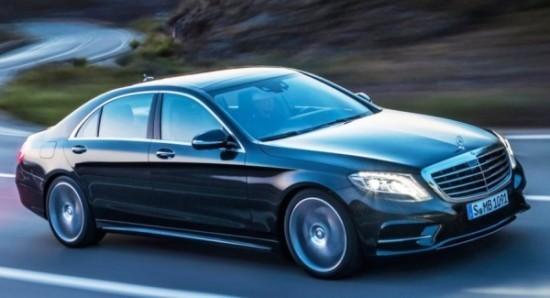 Mercedes S-Class (W222) фото сбоку