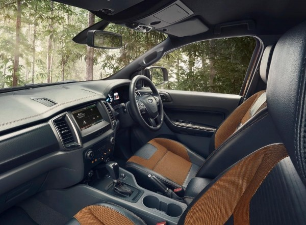 Ford Ranger Wildtrak 2016 фото салона