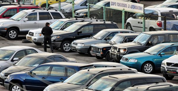 Продажи б/у автомобилей