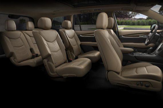 Cadillac XT6 фото салона