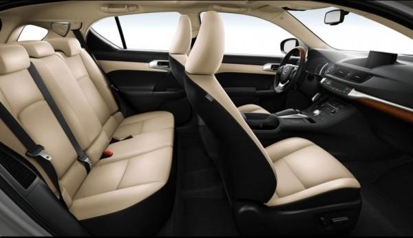 Lexus CT 200h фото салона