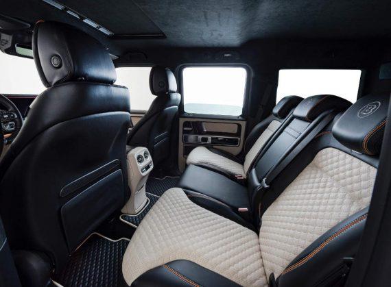 Тюнинг Mercedes G63 AMG фото салона