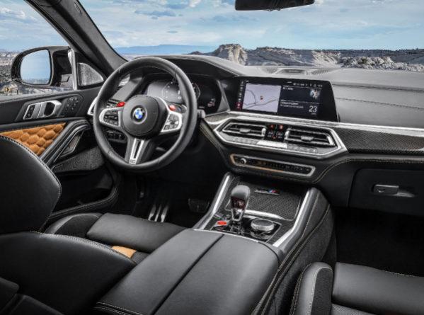 BMW X5 M 2020 фото салона