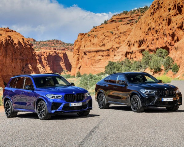 Новые BMW X5 M и Х6 М 2020