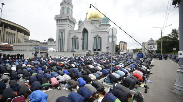 ограничения движения транспорта вблизи мечетей