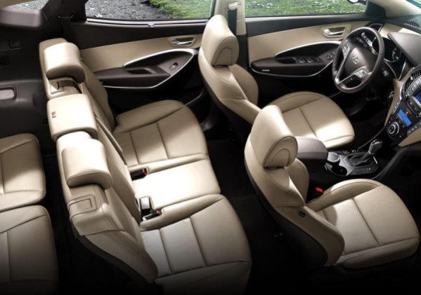 Hyundai Santa Fe 2015 фото салона