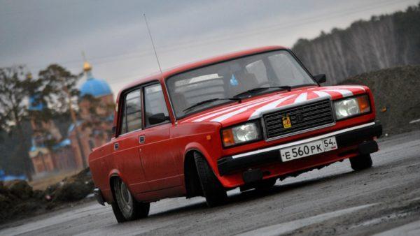Лада 2107 — самый популярный автомобиль