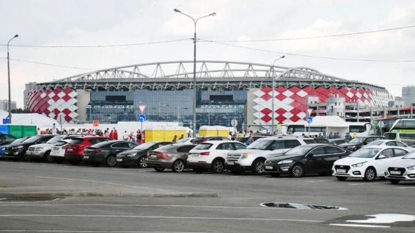 в районе стадиона Спартак будут введены ограничения движения